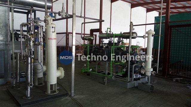 محطة استعادة الغاز الحيوي القائمة على الغاز الحيوي