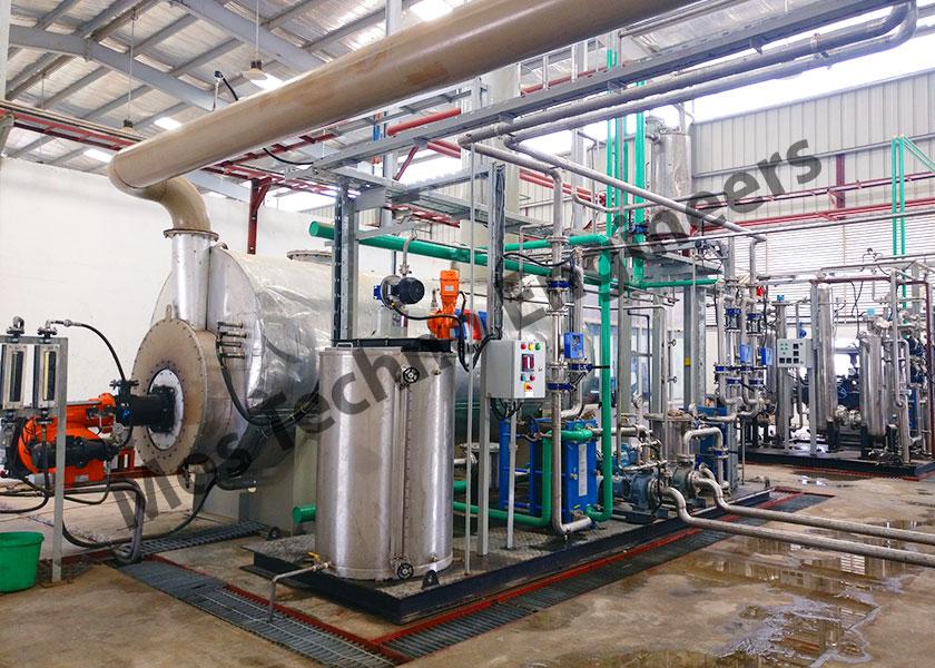 Planta de producción de CO2 a base de diesel