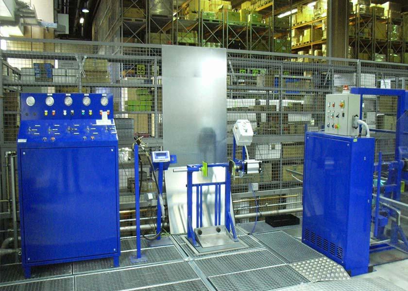 Sistema de llenado de cilindros de CO2