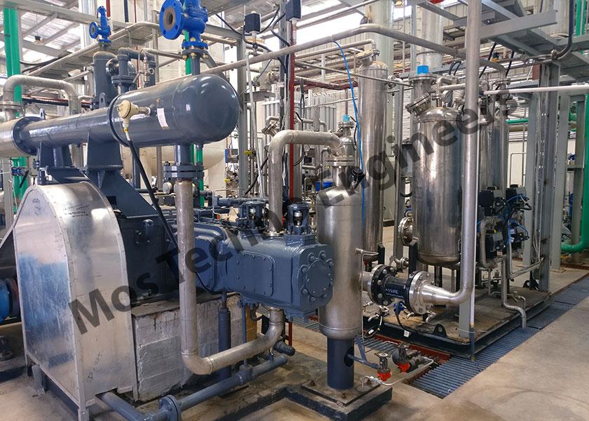 Planta de licuefacción de CO2