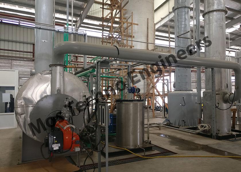 Planta de producción de CO2