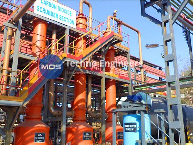 Planta de recuperación de CO2 a base de cloruro de calcio
