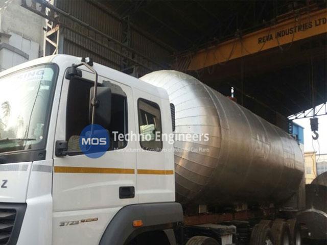 Tanque de transporte de CO2