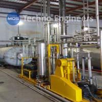 Planta de recuperación de CO2 a base de cervecería