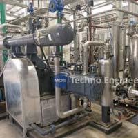 Planta de recuperación de CO2 a base de destilería