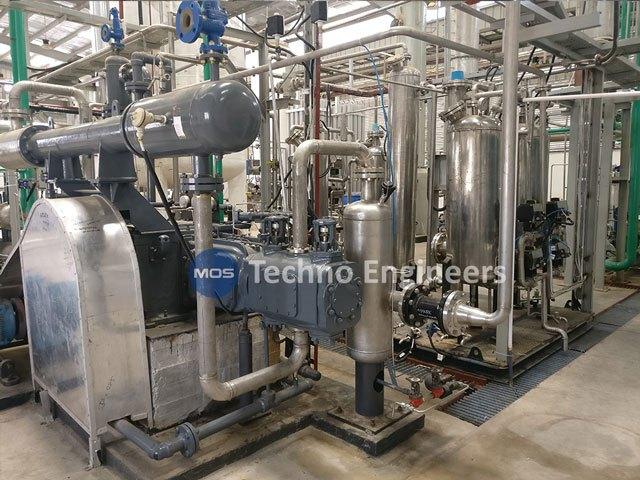 Brasserie CO2 Usine de récupération