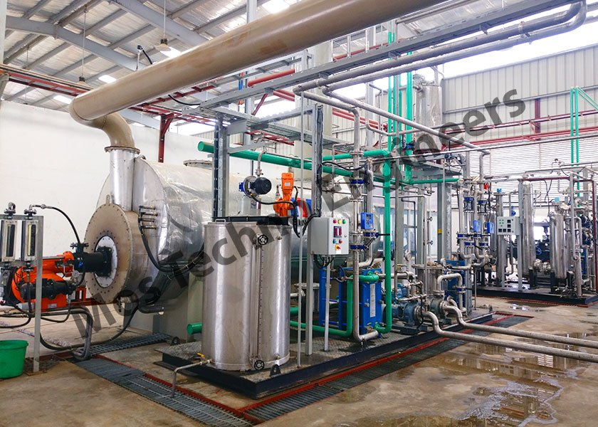 Diesel Fired Based Co2 Production Plant
