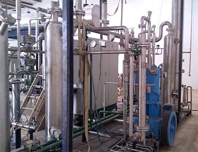 Natural Source Based CO2 Recovery Plant
