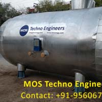Cryogenic Double Wall Vacuum Insulated CO2 Storage Tank